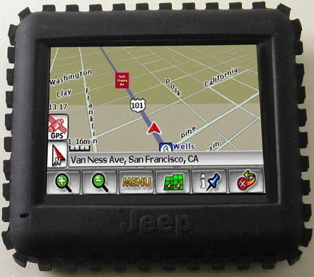 Jeep GPS RT 300, GPS todoterreno