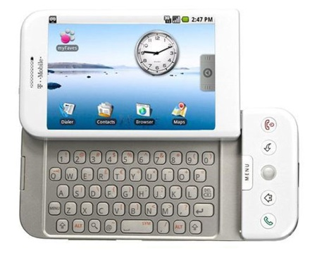 T-Mobile G1 HTC Google Android