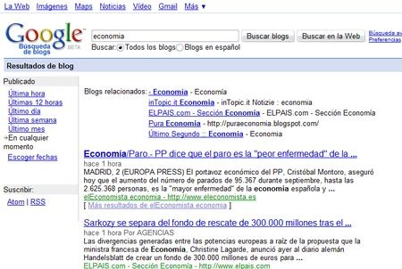 google blog search. using Google Blog Search