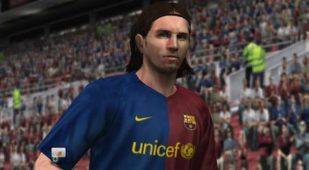 PES 2009 Wii Messi