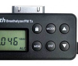 iBreath Alcohol Breathalizer