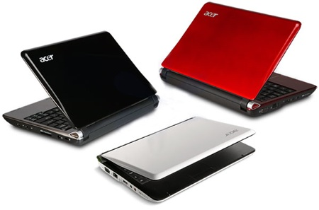 Acer Aspire One 103 de colores