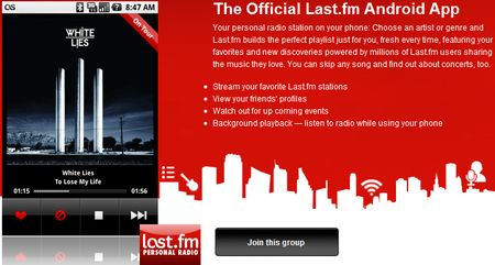 Last.fm for Android