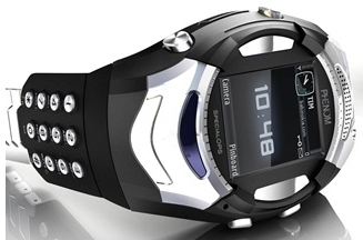 phenom specialops, movil con reloj multimedia