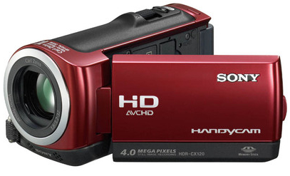 Sony HDR-CX120 videocamara con 16 GB de memoria flash interna