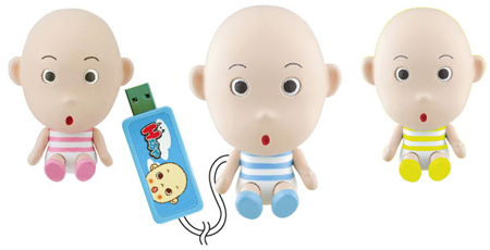 Cube Collection USB H-Boya, muñecos USB