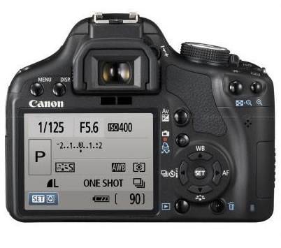 Canon 500D Back