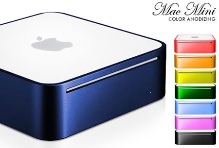 Mac Mini en colores