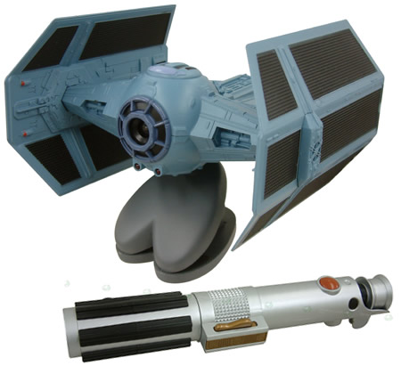 TIE-Fighter Sable laser