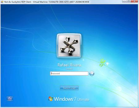 Windows 7 pantalla de inicio