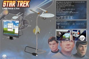 Star Trek USB Webcam