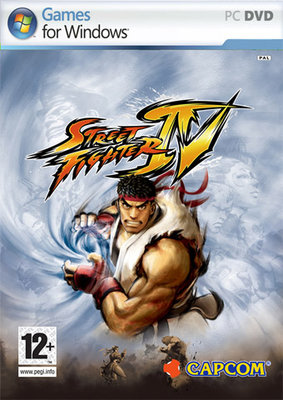 Street Fighter IV PAL cover