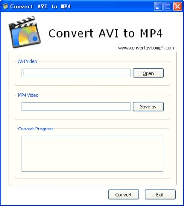 convert avi to mp4