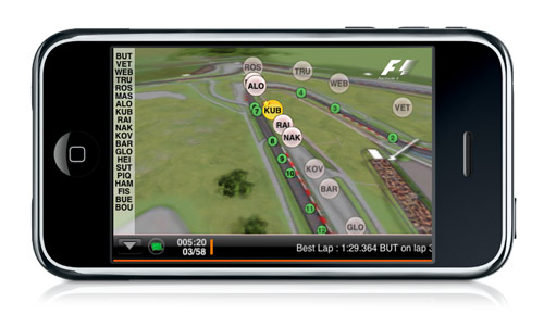Ver formula 1 directo iphone