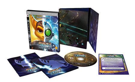 Ratchet and Clank A Crack in Time edicion coleccionista