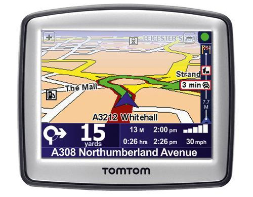 iberia map tomtom one: