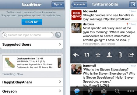 Twitter for iPhone 3.0.1