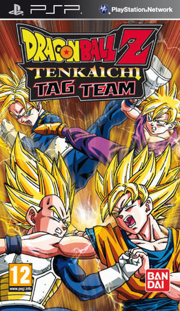 Dragon Ball Z Tenkaichi Tag Team portada PSP