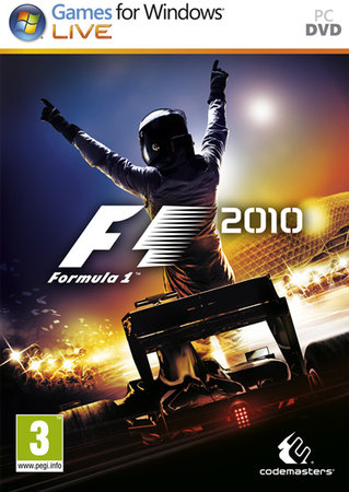 F1 2010 portada Windows PC
