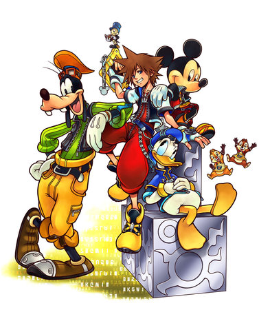 Kingdom Hearts Recoded Artwork Nintendo DS