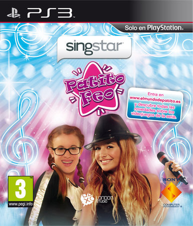 SingStar Patito Feo portada PS3