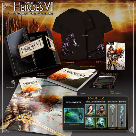 Might & Magic Heroes VI: edición coleccionista (PC) - Gizmos