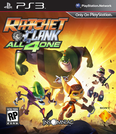 Ratchet and Clank All 4 One portada PS3