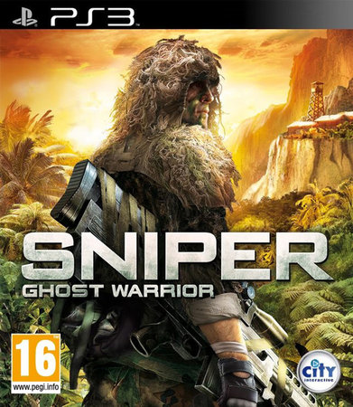 Sniper Ghost Warrior portada PS3
