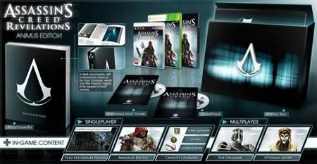 Assassins Creed Revelations Animus Edition edición coleccionista