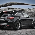 Infiniti FX 30d S Laterales Trasera