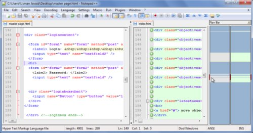 Compare Notepad++