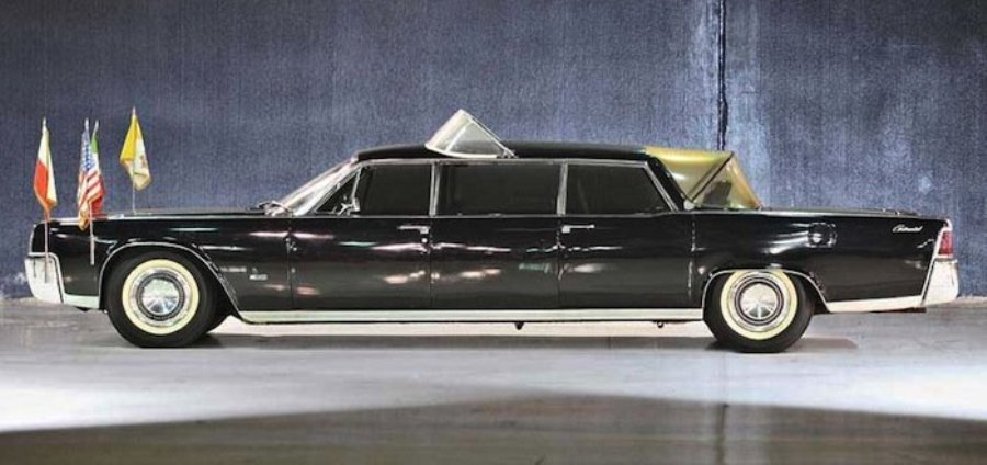 el lincoln continental limousine de 1964 se pondr en. Black Bedroom Furniture Sets. Home Design Ideas