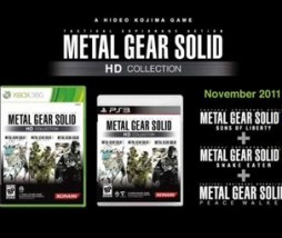 Metal Gear Solid HD Collection Xbox 360 PS3
