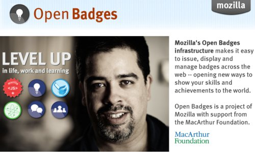 Mozilla Open Bagdes Project