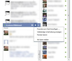 Facebook Old Chat Sidebar
