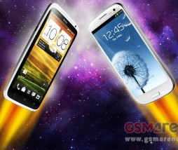 Samsung Galaxy VS HTC One
