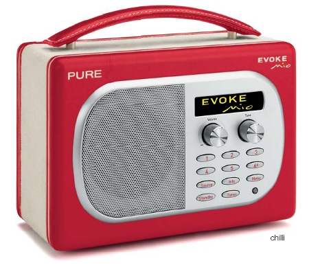 pure evoke mio radio digital retro gizmos. Black Bedroom Furniture Sets. Home Design Ideas