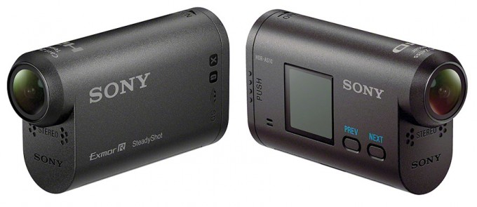Sony HDR-AS10 y AS15