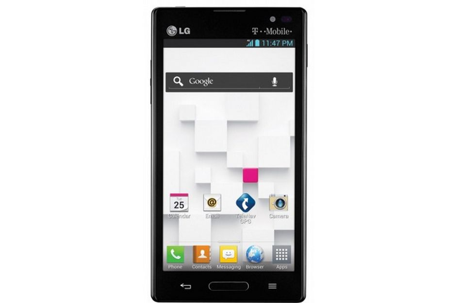 el smartphone optimus lg l9 aterriza en el cat logo de t mobile gizmos. Black Bedroom Furniture Sets. Home Design Ideas