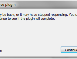 firefox plugin hang
