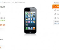 Los iPhone 5 ya en formato refurbished