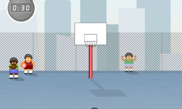Baloncesto en formato flash