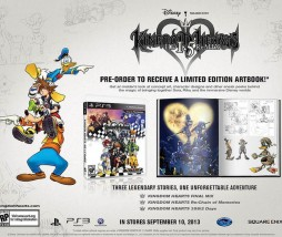 Artbook de regalo para la edición especial de Kingdom Hearts HD 1.5 Remix