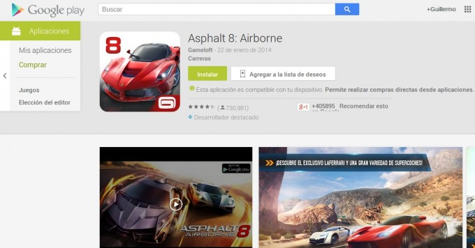 play store compras in app
