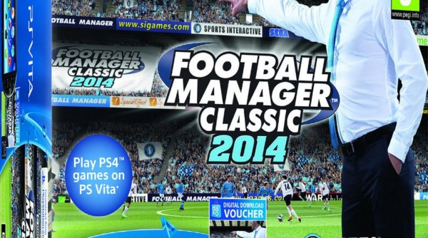 PlayStation Vita recibe pack con Football Manager
