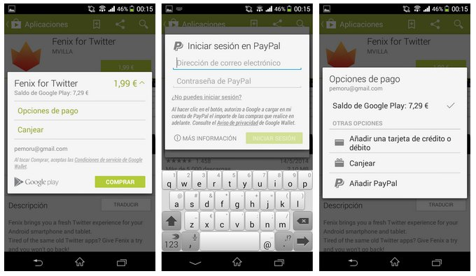 play store paypal