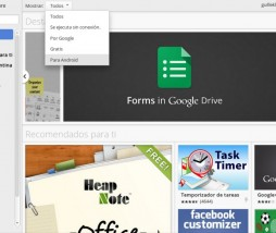 Chrome Web Store Android apps