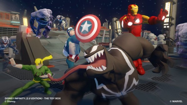 Marvel en Disney Infinity
