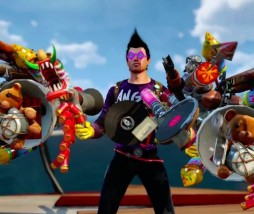 Pack de armas en Sunset Overdrive