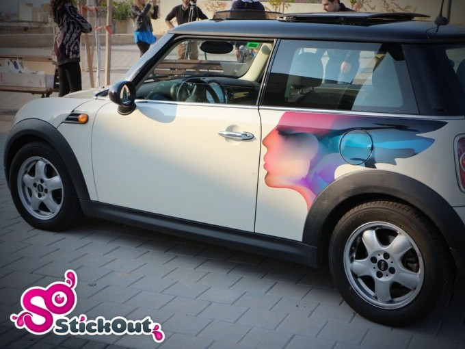 StickOut para coches